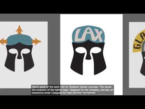 Gladiator Games Lacrosse Graphic Design