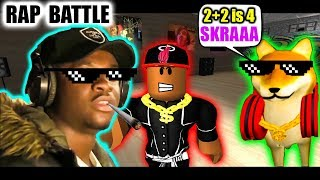 ROBLOX MUSIC VIDEO RAP BATTLE FEAT ROADMAN SHAQ (Roblox Movie)