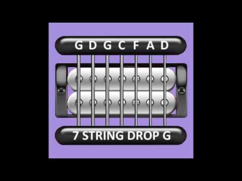 Perfect Guitar Tuner (7 String Drop G)