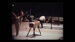 Tokyo 1964 Gymnastics  Viktor Lisitsky  (Amateur Footage)