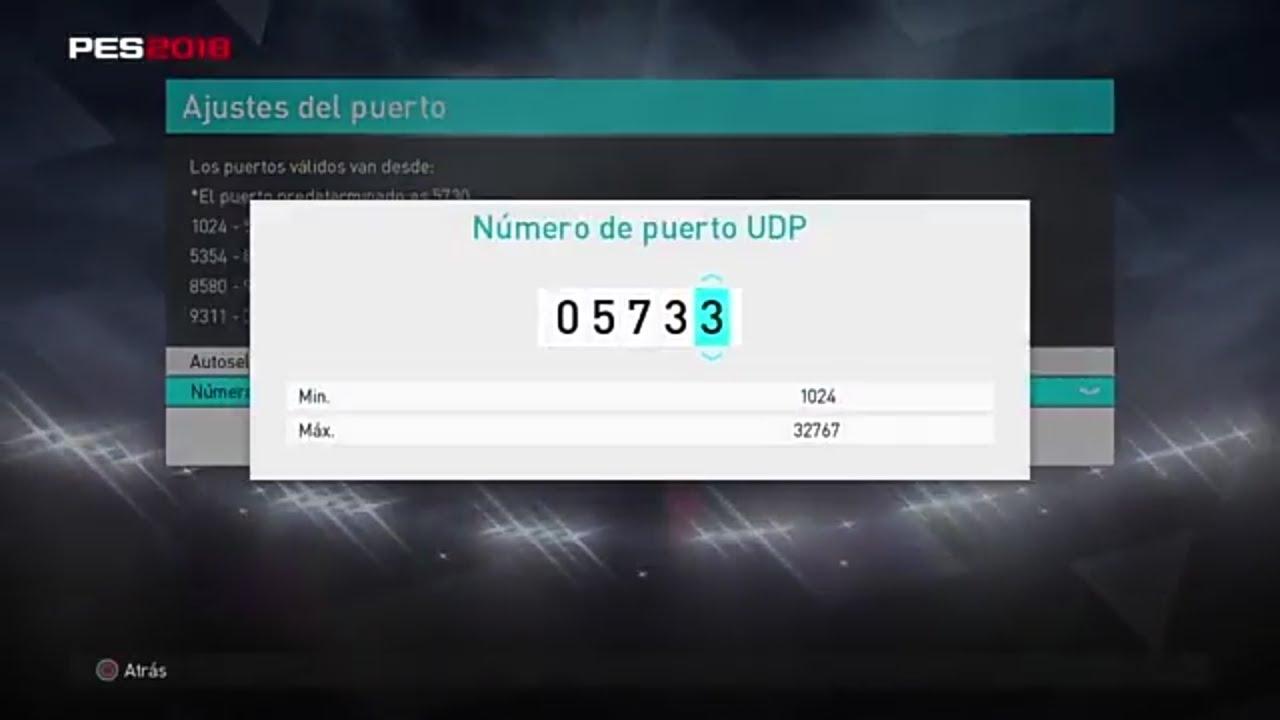 PES2018 PS4 | Error Code | Puerto de Conexion SOLUCIÓN!!