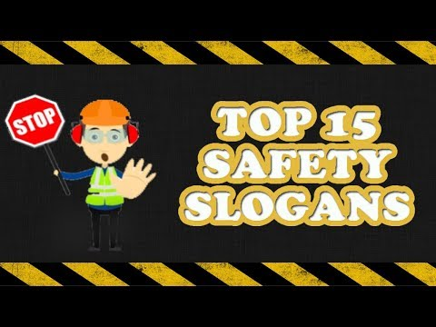 Safety Slogans | Top 15