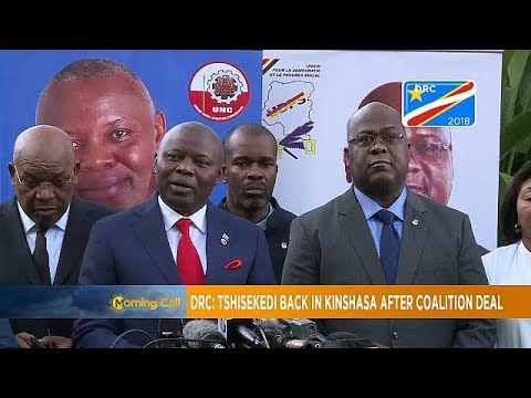 DRC's opposition leader Felix Tshisekedi returns to Kinshasa