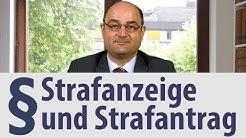 Strafanzeige und Strafantrag | Anwalt | Heidelberg