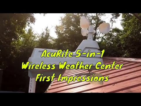 AcuRite 5-in-1 Wireless Weather Center | First Impressions