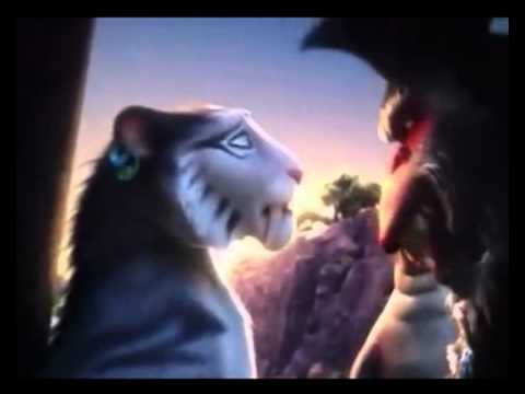 ice age 4 shira and diego kiss - photo #47
