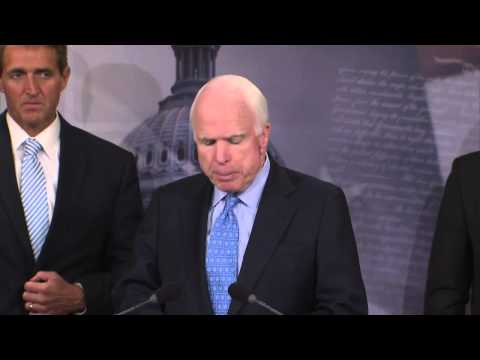 SENATOR JOHN McCAIN INTRODUCES VETERANS CHOICE ACT 6-3-14
