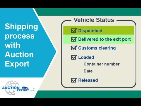 Shipping Process with Auction Export