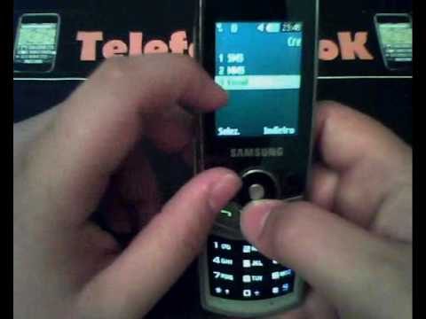 TELEFONINOOK - VIDEOPROVA SAMSUNG SGH-J700i
