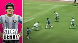 The story behind Diego Maradona's most incredible goal   The Story Behind