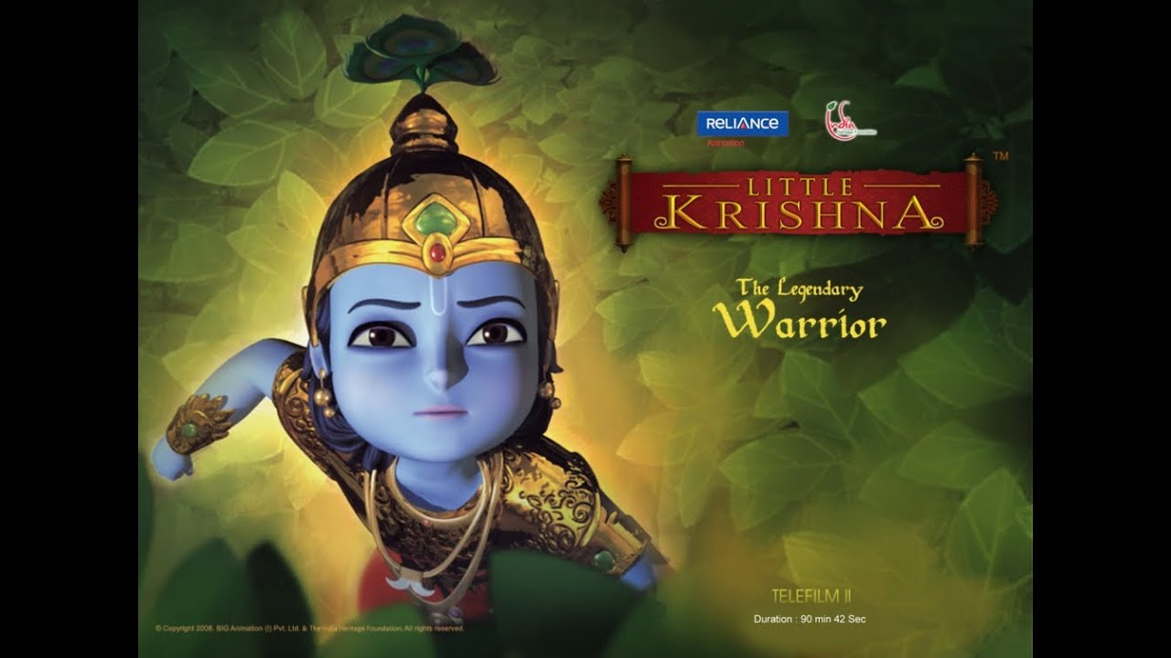 Little Krishna The Legendary Warrior English Youtube