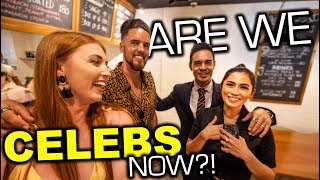 Living Like CELEBRITIES in Manila! Foreigners Attend Filipino Movie PREMIERE!