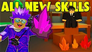 *NEW* 😱 All INSANE Skills, CODES & Meteor Locations!! (Power Simulator Roblox)