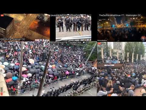 PROTESTS  RIOTS  ACROSS USA