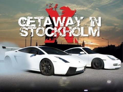 Getaway In Stockholm 10 - Lamborghini Gallardo and Porsche GT3 Illegal Street Race