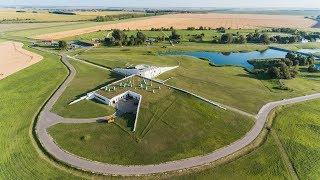 Куликово поле 2017 - аэросъёмка поля битвы 1380 г.