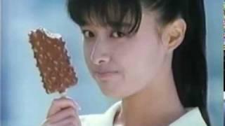CM ESKIMO CHERIO エスキモー チェリオ 国生さゆり Sayuri Kokusho.
