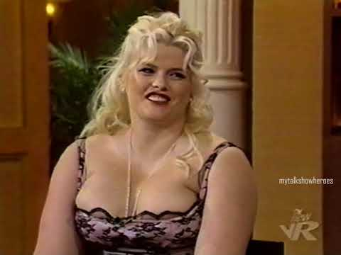 ANNA NICOLE SMITH has FUN with REGIS & KELLY  R.I.P.