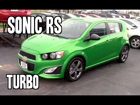 2014 Chevrolet Sonic RS Turbo Review - YouTube