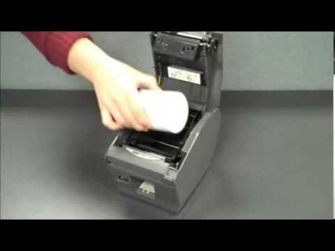 Star TSP700II - Paper Loading