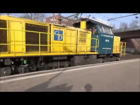 The ANWP Rail Video Diary Episode 140, International 2, Hamburg Harburg 9th April 2018 am