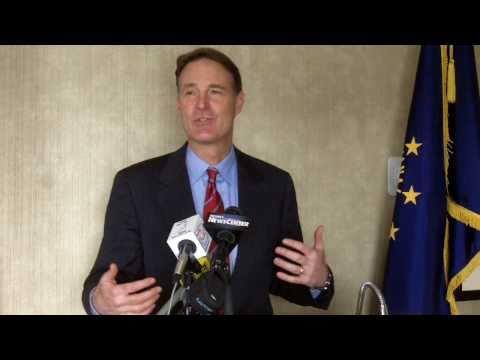 2010/12/20: Senator Evan Bayh tour, segment 1
