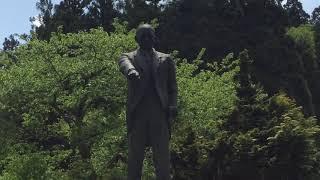 辻政信陸軍大佐・生誕地・石川県の銅像・令和元年5月6日