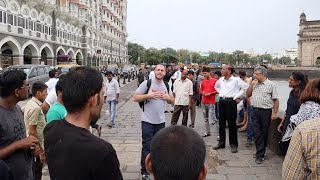 Crowds in Mumbai, India gather to hear about Christ Jesus