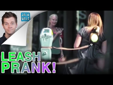 Wife On A Leash Prank!