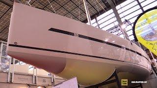 2016 Dufour 36 Performance Sailing Yacht - Deck and Interior Walkaround - 2015 Salon Nautique de Par
