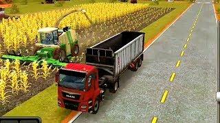 Мультики про: грузовик, комбайн, трактор, погрузчик. Развивающие мультики для детей. #Автошка