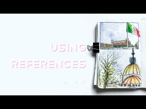 Using References (How, Why and Should You Even???) · The Under-Painting #3 · semiskimmedmin