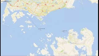 Stolt Commitment tanker ship collision with cargo ship Thorco Cloud in Singapore