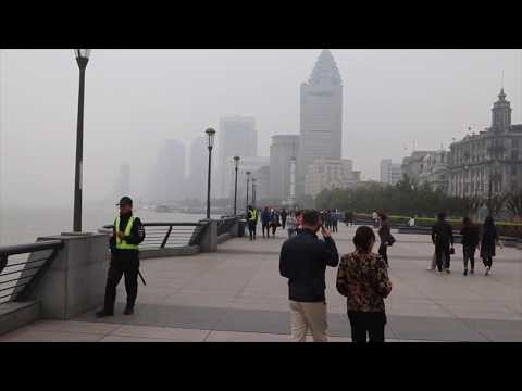 The Bund Area Huangpu River Shanghai