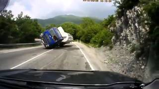 Auto accidents in 2012 in Russia -  Aвто катастрофи през 2012 г. в Русия