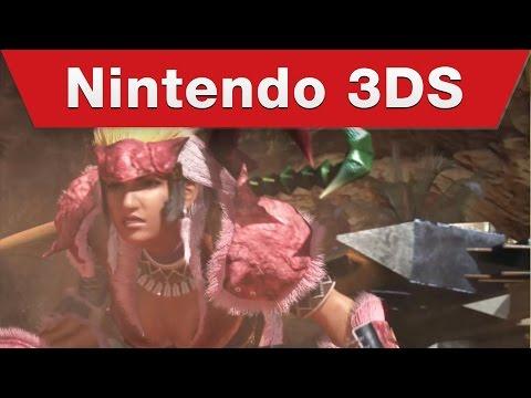 Nintendo 3DS - Monster Hunter 4 Ultimate - Tutorial