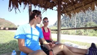 MariOla w Podróży Vlog#111 Rowerowe walentyny Luang Namtha/Vieng Phoukha Laos