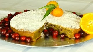 Cranberry Apple And Orange Cake