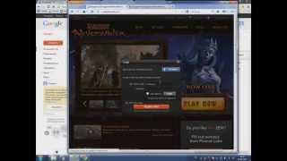 Click №1 регистрация в Neverwinter Online