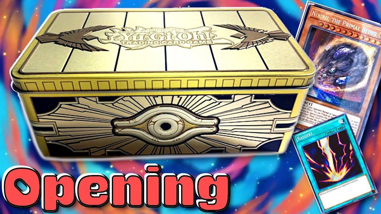 Gold Sarcophagus Mega Tin 2019 - YuGiOh Pack Opening!