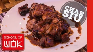 Hong Kong Style Char Siu Pork Recipe! | Chinese BBQ Pork | Wok Wednesdays