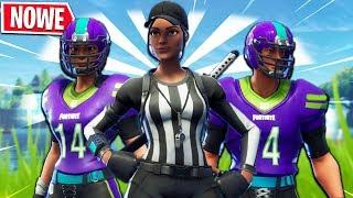 *TESTUJEMY* NOWE SKINY NFL! | Fortnite - Battle Royale