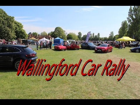 Wallingford Car Rally Parade 2017 All cars in show...