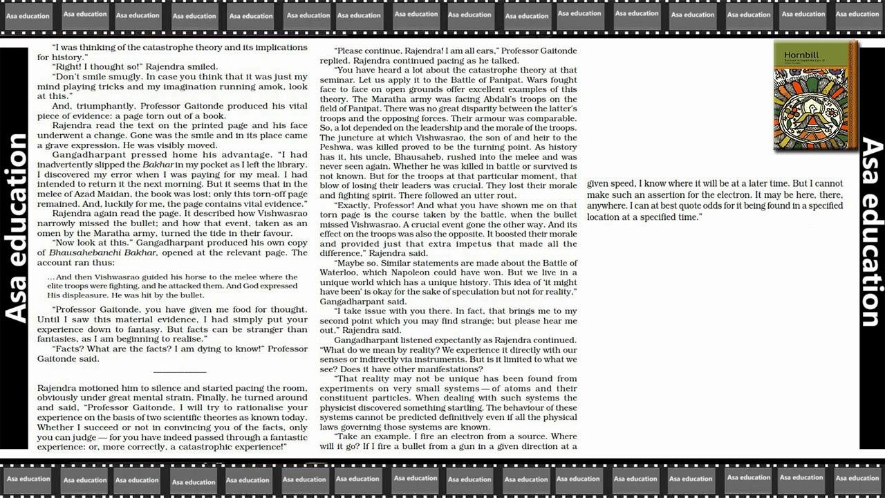 Hornbill Book In Hindi