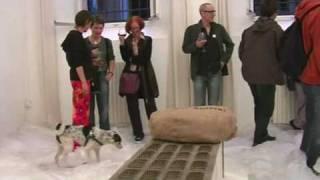 Ausstellung Marion Steiner, Bologna 2010: Scheues Reh / Shy Deer