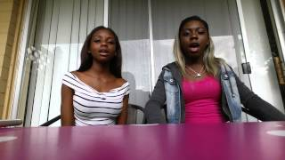 When you look me in the eyes By Ambria and Tamia