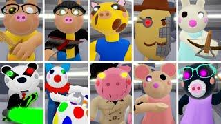 ROBLOX PIGGY ALL JUMPSCARES NPC TEST