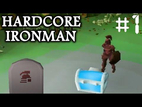 Baby Steps - OSRS Hardcore Ironman (Ep. 1)