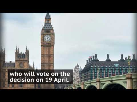 UK Prime Minister Theresa May annouces snap general election