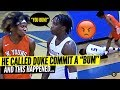DUKE COMMIT DJ STEWARD RESPONDS TO TRASH TALKERS! Whitney Young TOUGH Conference Game!